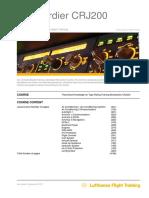Type Rating Training CRJ200