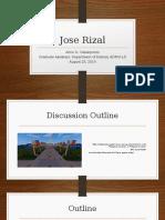 Jose Rizal Lecture