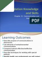 Pharmacy Communication and Professionalism