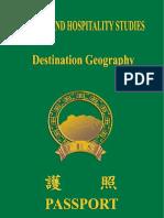 Tourism and Hospitality Studies - Module III