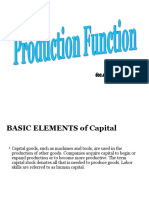 Production Function Lesson 4