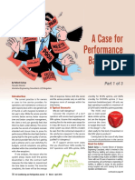 A Case for Performance Based O&M Contracts - P1