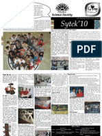 Sytek '10 Newsletter