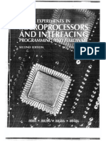 Experiments in Microprocessors