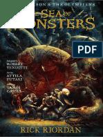 Percy Jackson 2 Graphic Novel