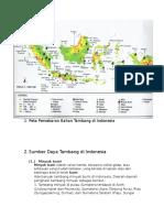 Peta Persebaran Bahan Tambang Di Indonesia