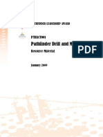 Pathfinder Drill and Marching Resource Material - Jan 09