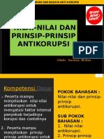 Nilai & Prinsip Antikorupsi Tgl 23-6-14