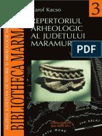 Kacso Repertoriul Arheologic Maramures I