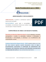 Resumo de Direito Previdenciário INSS Parte 031