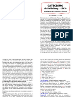 Catecismo de Heidelberg Editado Cuadernillo FULL