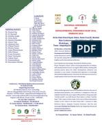 NCDP 2016 Scientific Brochure