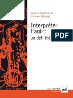 Maggi Interpreter l Agir Un Defi Theorique Ok