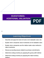 Inventories - Additional Valuation Issues