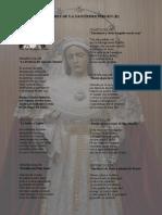 Dolores de La Santísima Virgen (II)