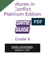 cultures in conflict - platinum edition 2016-17