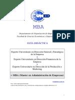 GUIA MBA 2014-2015