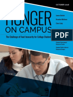 Hunger on Campus Report
