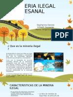 Mineria Ilegal Artesanal