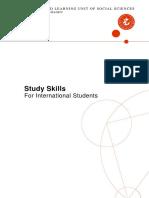 Samlet Study Skills Med Nyt Navn 2010