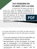 3.1 Ajustes Periodicos a Las Ier