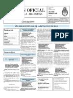 Boletin Oficial 07-06-10 - Tercera Seccion