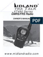 Midland LXT 480 radio user manual