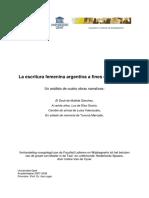 La Escritura Femenina a Fines Del Siglo XX