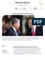 Boletín de noticias KLR 05OCT2016