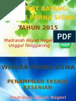 Slide Susunan Acara 2015