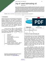 Yash, M. (2015).Re-refining of used lubricating oil.pdf