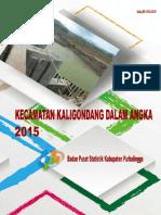 Kecamatan Kaligondang Dalam Angka 2015
