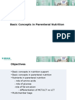 Basic Concepts on Parentheral Nutrition by Irfan