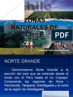 Zonas Naturales de Chile1