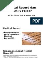Rekam Medik Dan Family Folder