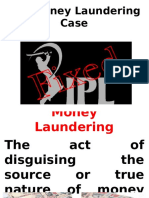 IPL Money Laundering Case