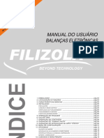 Manual Balanla Filizola idm