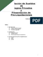 Instructivo Liquidacion de Haberes Docentes Ley 0627-2008 10% 12-2008