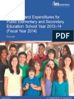 Revenues and Expenditures for Public Elementary and Secondary Education