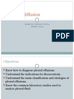 Evaluation of Pleural Effusions