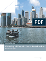 Planning of Electric Power Distribution Technical Principles