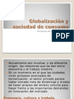 Globalización y sociedad de consumo