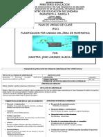 Planificacion de Unidad de Funcion