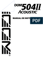 Manual em espanhol 504II