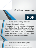 ppt clima terrestre