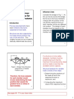 L8 - Influence Line Diagrams