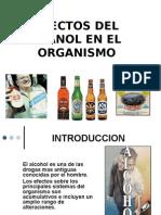 efectos del alcohol en el organismo
