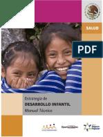 Manual Técnico Estrategia Desarrollo Infantil
