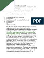 Ac 526 Stakeholder Analysis