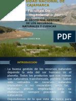 Gestion de Recursos Naturales y Cuencas